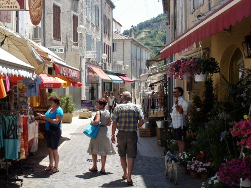 A Street in Provence (Vaison-la-Romaine)