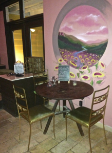 Chateau D'Vine's intimate space